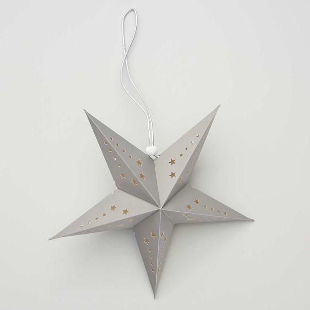 Oferta de Farolillo de estrella 30 cm por 2€