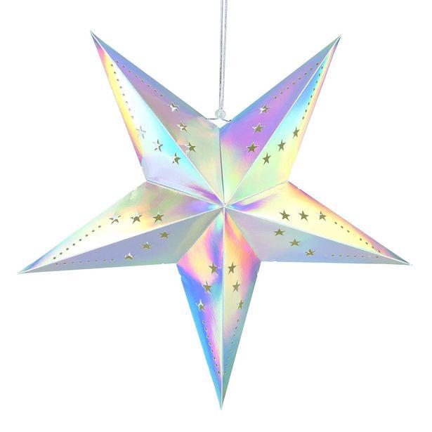 Oferta de Estrella de decoración 60 cm por 3€