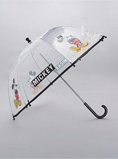 Oferta de Paraguas transparente 'Mickey' por 4€
