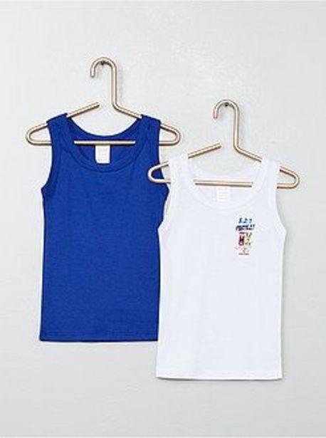 Oferta de Pack de 2 camisetas de tirantes 'Absorba' por 5€