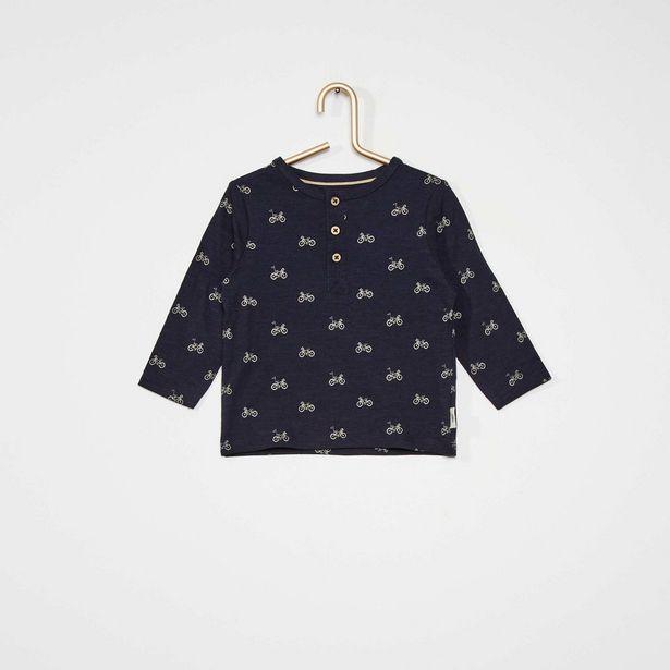 Oferta de Camiseta con cuello panadero eco-concepción por 4€
