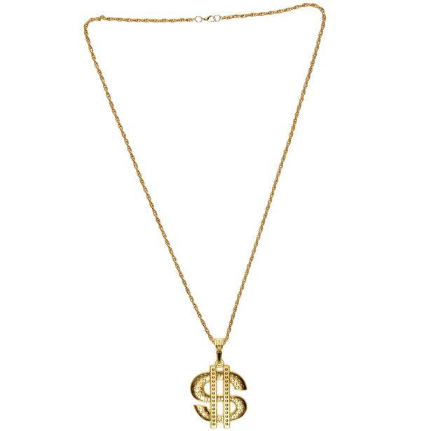Oferta de Collar metálico 'Dollar' por 2,5€