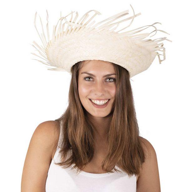 Oferta de Sombrero de paja Hawái por 2€