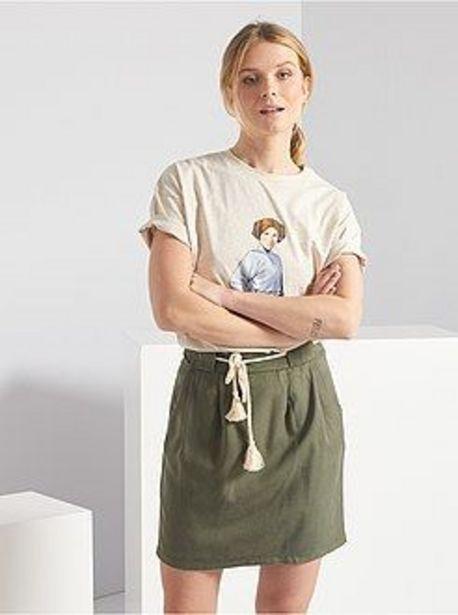 Oferta de Minifalda de lyocell por 8€