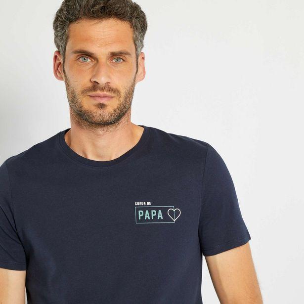 Oferta de Camiseta Día del Padre por 5€