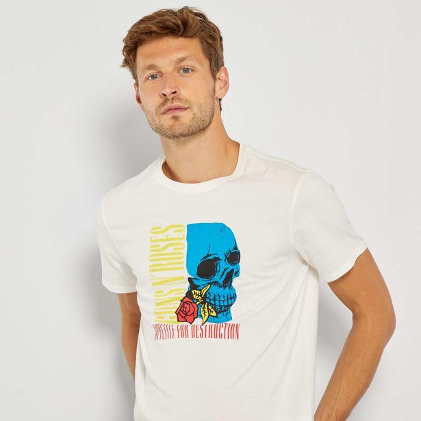Oferta de Camiseta 'Guns N' Roses' por 7€