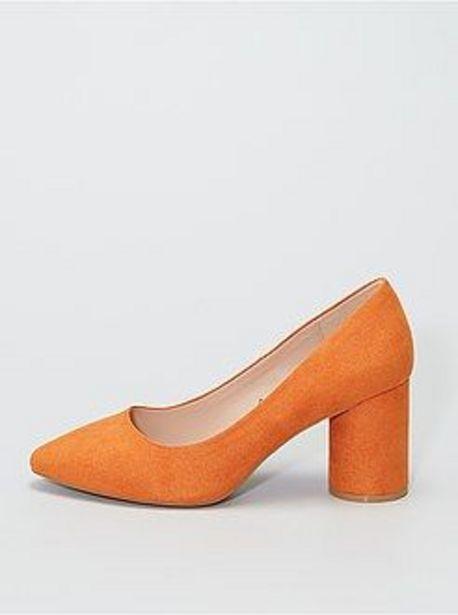 Oferta de Zapatos de tacón de antelina por 5€