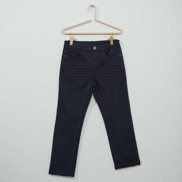 Oferta de Pantalón super skinny elástico niño talla + por 5€