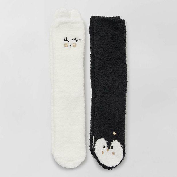 Oferta de Pack de 2 pares de calcetines antideslizantes por 5€