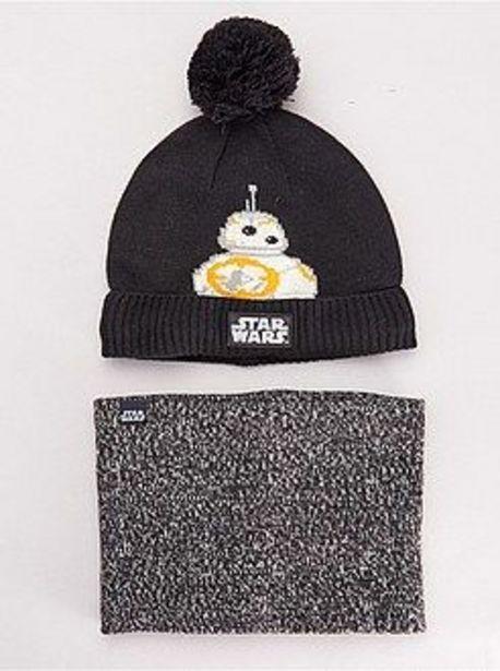 Oferta de Conjunto de gorro y braga 'Star Wars' por 8€
