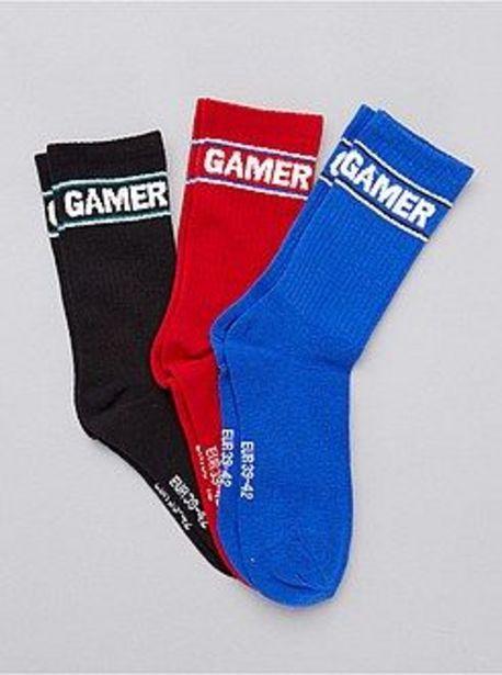 Oferta de Pack de 3 pares de calcetines deportivos por 2€