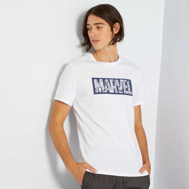 Oferta de Camiseta con logo 'Marvel' por 12€