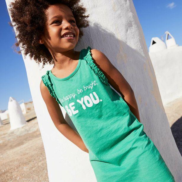 Oferta de Vestido 'Be happy, be bright, be you' por 3€