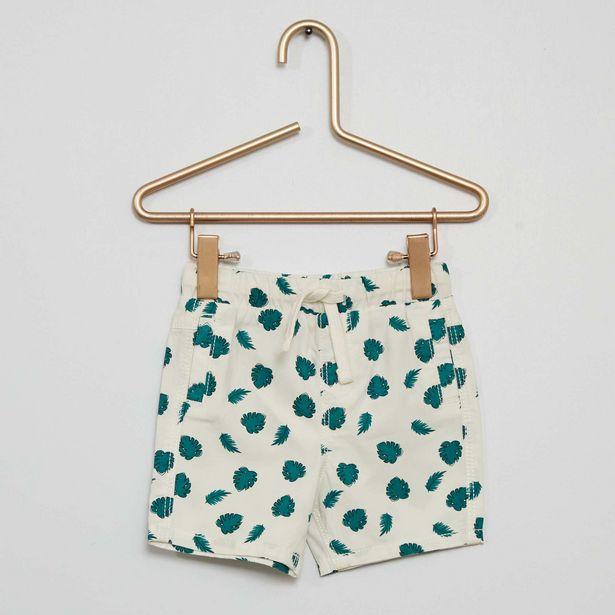 Oferta de Pantalón corto estampado 'hojas' por 2€