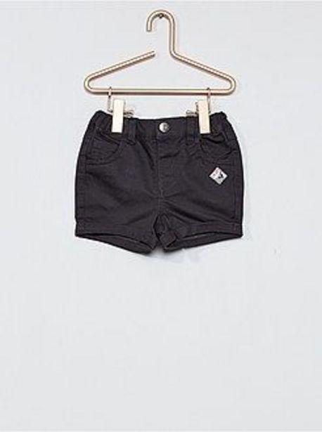 Oferta de Pantalón corto de sarga por 5€