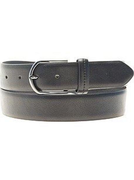 Oferta de Cinturón liso de piel sintética por 5€