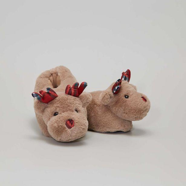 Oferta de Zapatillas de casa 'ciervo' por 10€