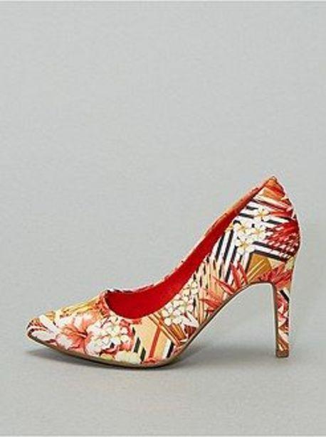 Oferta de Zapatos de tacón de flores por 11€