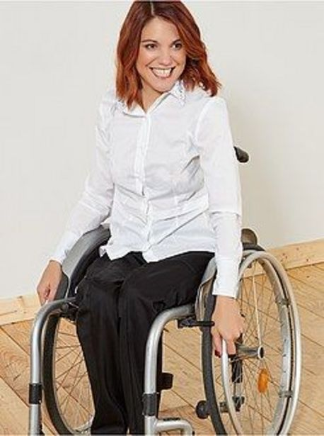 Oferta de Pantalón adaptado para silla de ruedas 'A&K Classics' por 15€