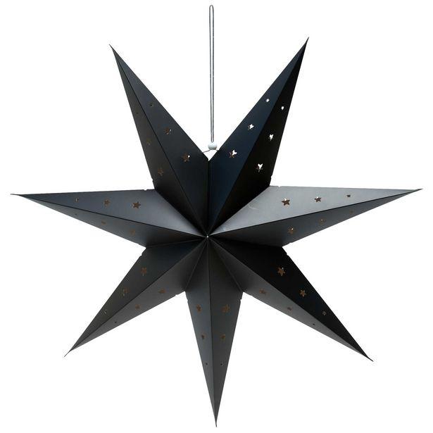 Oferta de Estrella de decoración 70 cm por 4€