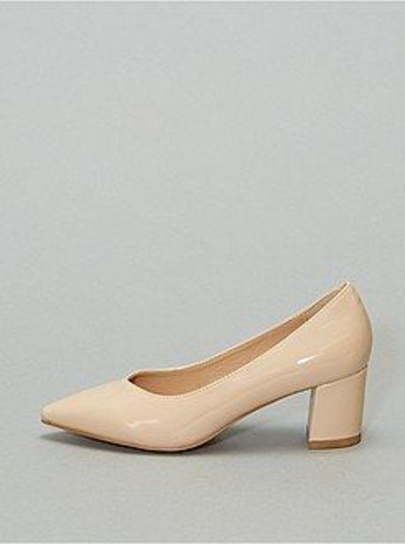 Oferta de Zapatos de tacón de charol por 15€