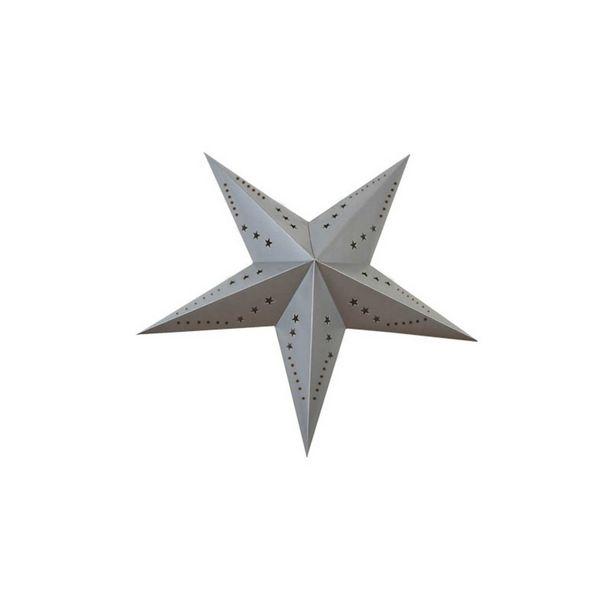 Oferta de Estrella de decoración 60 cm por 4€