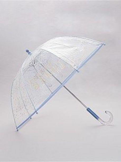 Oferta de Paraguas transparente 'Campanilla' por 4€