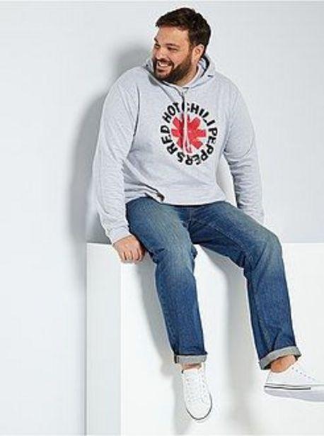 Oferta de Sudadera con capucha 'Red Hot Chili Peppers' por 9€