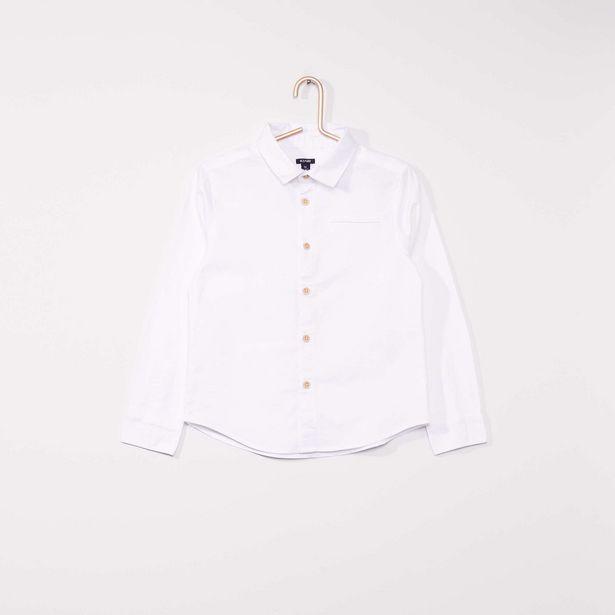 Oferta de Camisa oxford de manga larga por 9€