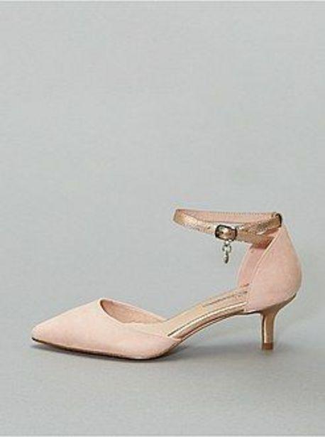 Oferta de Zapatos de tacón semiabiertos 'Xti' por 13€
