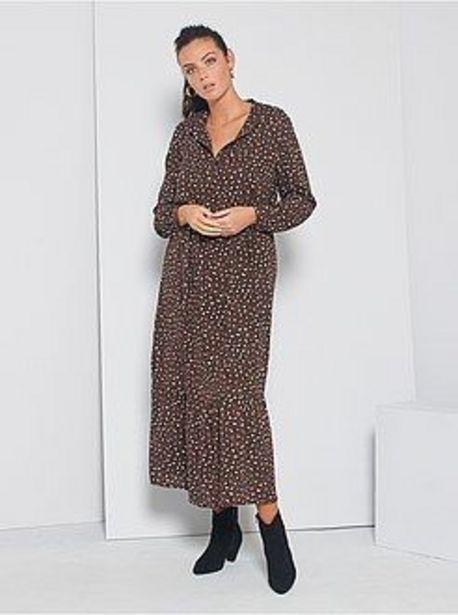 Oferta de Vestido largo 'JDY' con motivos de leopardo por 13€
