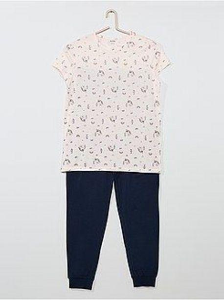 Oferta de Pijama largo 'unicornio' por 4€