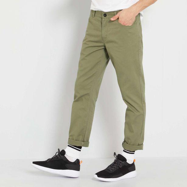 Oferta de Pantalón 5 bolsillos L32 por 7€