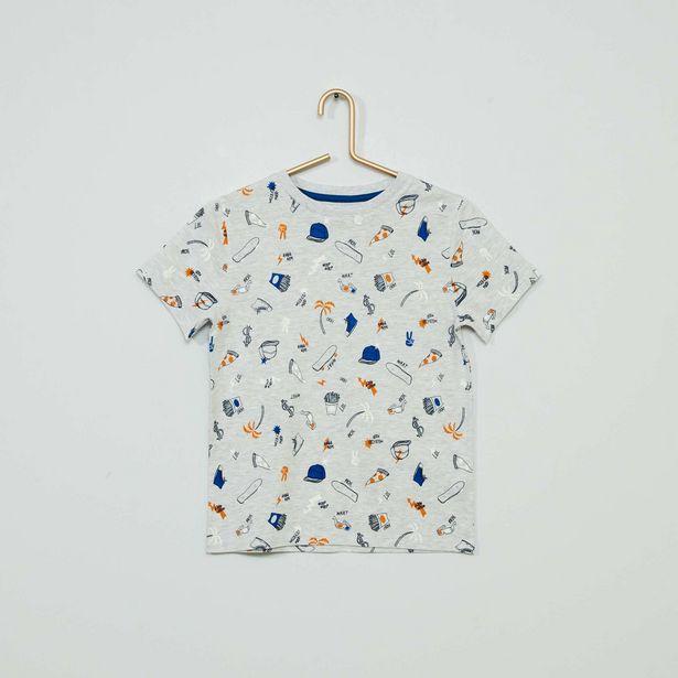 Oferta de Camiseta estampada 'eco-concepción' por 3€