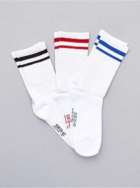 Oferta de Pack de 3 pares de calcetines deportivos por 4€