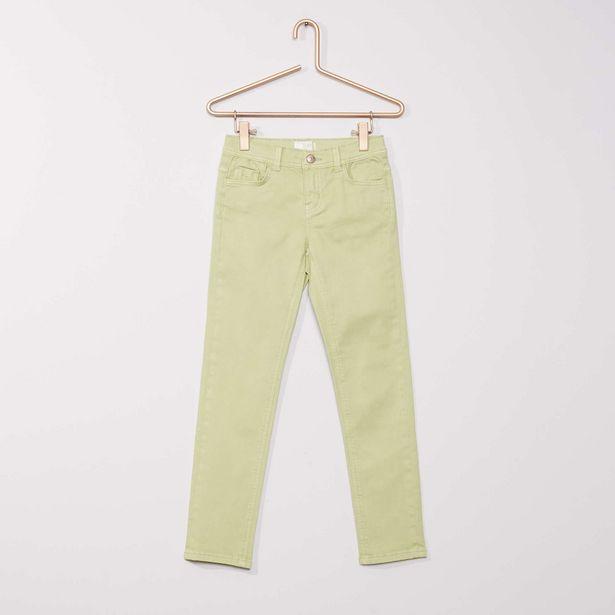 Oferta de Pantalón slim de color por 4€