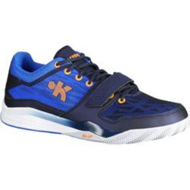 Oferta de Zapatillas Baloncesto FAST 500 Caña Baja Adulto Azul por 26,99€