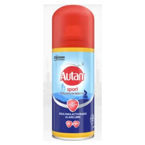 Oferta de Repelente de Insectos Autan Sport DEET 25 Spray por 5,99€