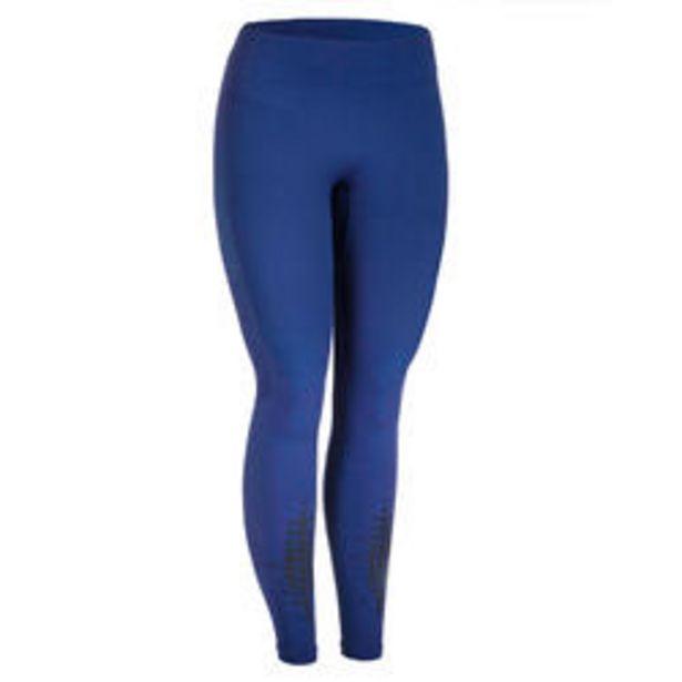 Oferta de Mallas leggins mujer Domyos Cross 900 azul por 16,99€