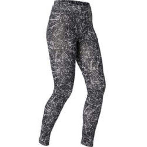 Oferta de Malla Leggings Vientre Plano Fitness mujer Nyamba Fit500 Slim algodón Negro Est por 9,99€