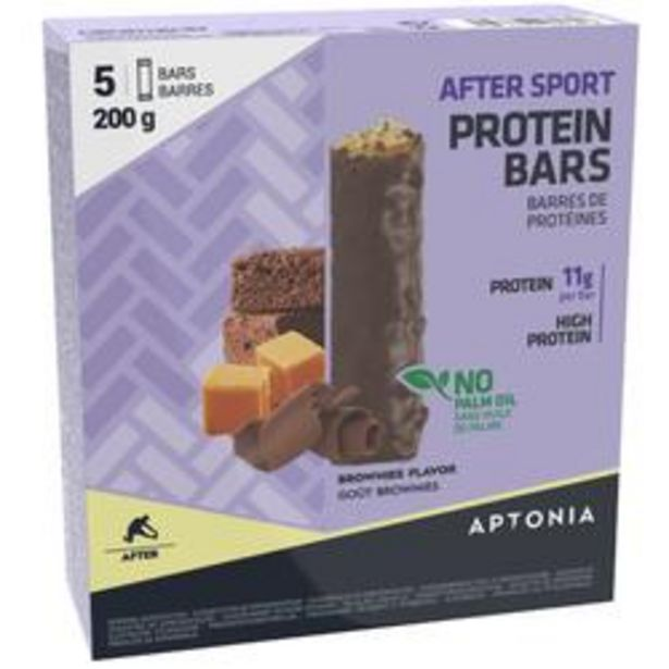 Oferta de Barrita proteica AFTER SPORT Brownies 5 x 40 g por 3,49€