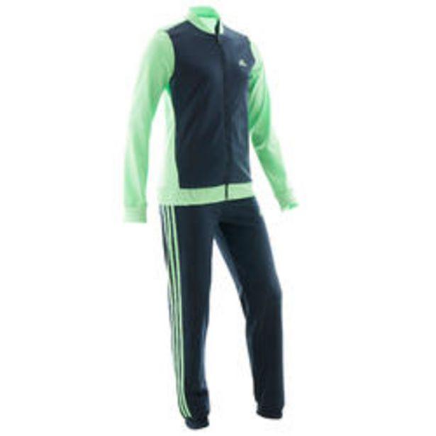 Oferta de Chándal niño niña Adidas gimnasia deportiva verde azul marino por 24,99€