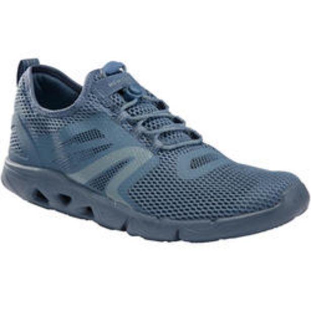 Oferta de Zapatillas Caminar PW 500 Fresh Hombre Azul por 23,99€
