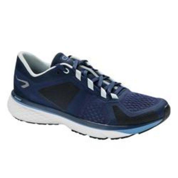 Oferta de Zapatillas Running Kalenji Run Support Control Mujer Azul/Oscuro por 32,99€
