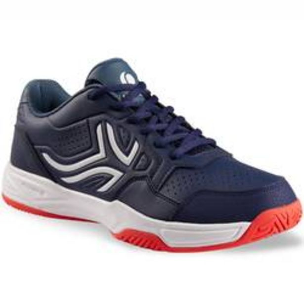 Oferta de Zapatillas de Tenis Hombre TS190 Azul marino Multi terreno por 16,99€