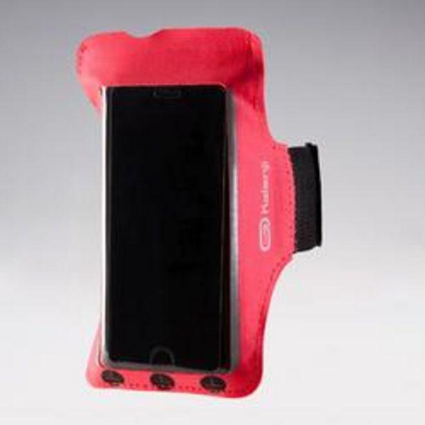 Oferta de Brazalete Smartphone Running Adulto Rosa Coral Fluorescente por 3,99€