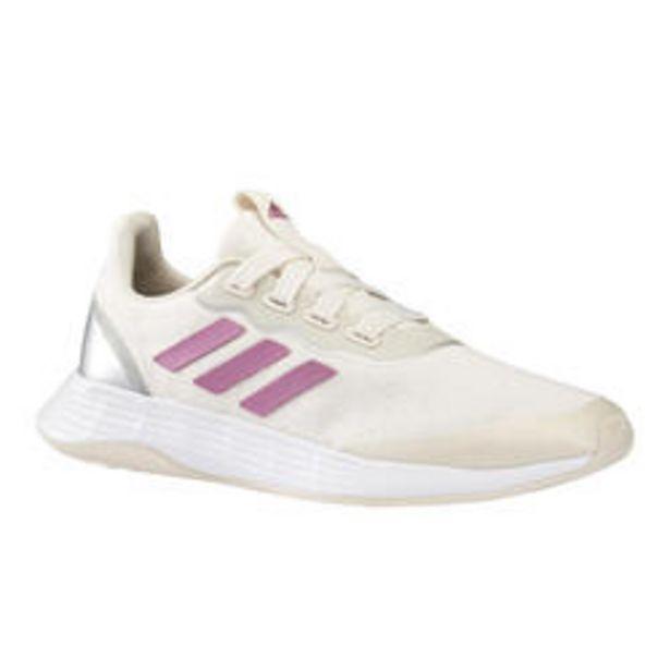 Oferta de Adidas QT Racer Sport Mujer Blanco/Rosa Zapatillas Caminar por 39,99€