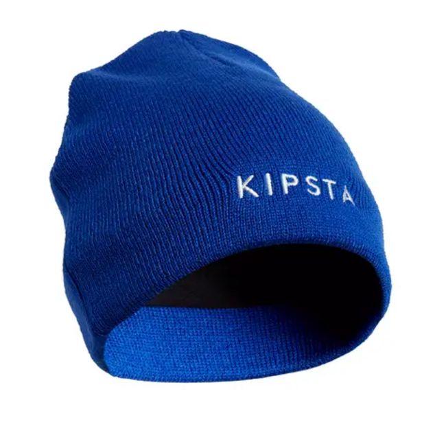 Oferta de Gorro Fútbol Kipsta Keepwarm 100 niños azul por 1,99€