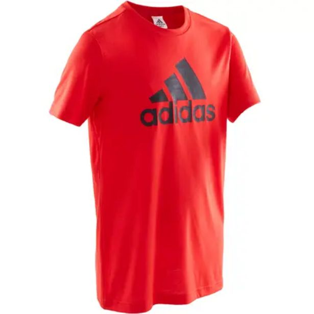 Oferta de Camiseta niño rojo adidas por 9,99€