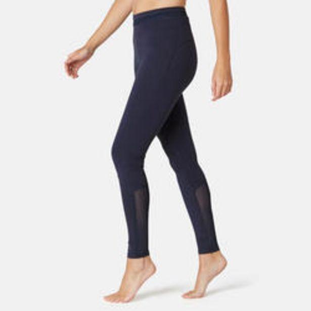 Oferta de Mallas leggings mujer efecto vientre plano Nyamba 520 slim azul marino por 12,99€